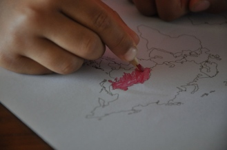 Colouring China Red